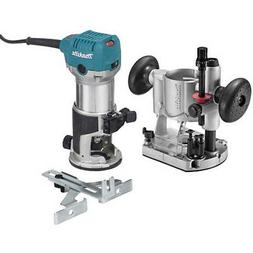 Makita 1-1/4 HP Slim & Compact Double Insulated Router Kit R