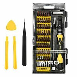 ORIA 64 in 1 Precision Screwdriver Set with 56 Bits, S2 Stee