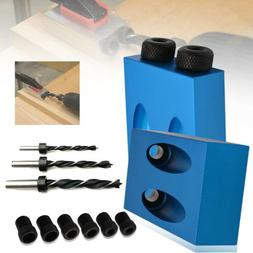 1 set 15° Pocket Hole Screw Jig with Dowel Drill Carpenters
