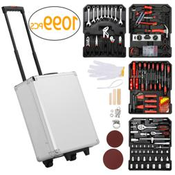 1099pcs Tool Kit Tool Set Aluminum Portable Case Mechanics K