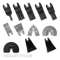 12 pc Blade Kit for Old Style PORTER CABLE, FATMAX, BOLT-ON