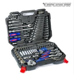 WORKPRO 123PC Tool Set Hand Tools for car Professional Car R