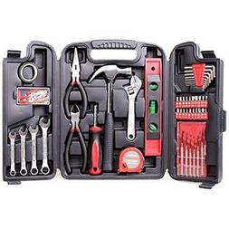 136-Piece Tool Set General Household Hand Kit With Plastic T