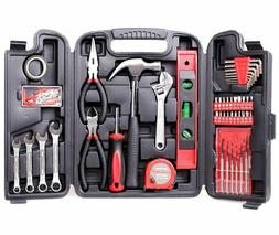 CARTMAN 136-Piece Tool Set General Household Hand Tool Kit w