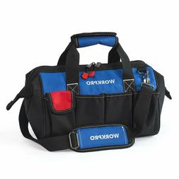 14-inch Tool Bag, Multi-pocket Tool Organizer with Adjustabl