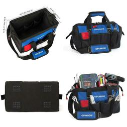 Workpro 14-Inch Tool Bag, Multi-Pocket Tool Organizer With A