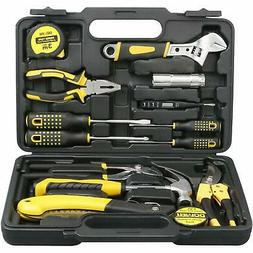 DOWELL 14 Pieces Homeowner Tool Set Home Repair Hand Tool Ki