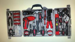 Apollo 161-Piece Household Tool Kit with 4.8-Volt Screwdrive