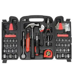 New 186pc Household Hand Tool set Garage Mechanics Tool Box