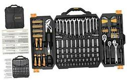 192 Piece Mechanics Tool Set Socket Wrench Set,Auto Repair H