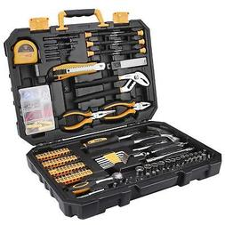 196 Piece Tool Set General Household Hand Tool Kit with Rip