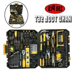198 Pcs Hand Tool Set  Mechanics Kit General Household Hand