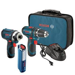 Bosch 12-Volt 2-Tool Combo Kit  with two 12-Volt Lithium-Ion
