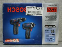 """Bosch 2 Tool Combo Kit Impact Driver & 3/8"""" Drill/Driver CLP"""