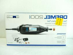 DREMEL 200-1/15 Two Speed Rotary Tool Kit Brand new in box s