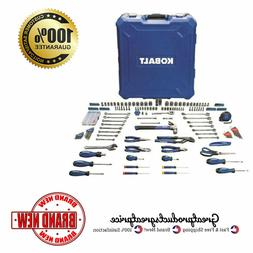Kobalt 200-Piece Standard  Metric Mechanics Tool Set Hard Ca