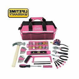 201 piece household tool kit in a
