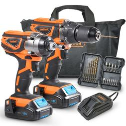 20v cordless 2 tooi drill and driver