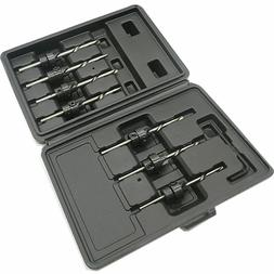 22pc Countersink Drill Bit Set Woodworking Drill Carpentry T