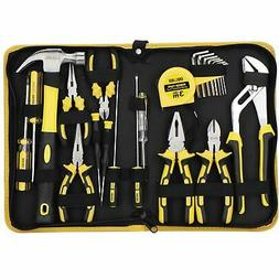 DOWELL 24 Pieces Homeowner Tool Set Home Repair Hand Tool Ki