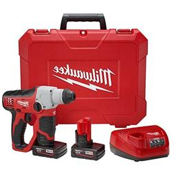 Milwaukee 2412-22XC M12 1/2 SDS Rotary Hammer Kit W/2 Xc Bat