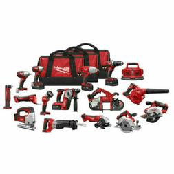 Milwaukee 2695-15 M18 18V Series Lithium-Ion 15 Tool Combo K