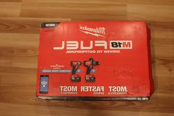 MILWAUKEE 2796-22 Cordless M18 Fuel 2-Tool Combo Kit WITH ON
