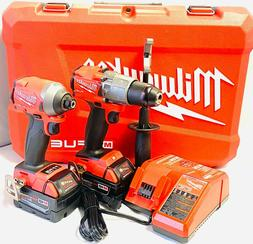 Milwaukee 2997-22 M18 FUEL 2-Tool Combo Kit.  New in case/pa