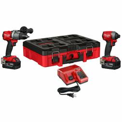 Milwaukee 2997-22PO M18 FUEL 2-TOOL COMBO KIT W/packOUT