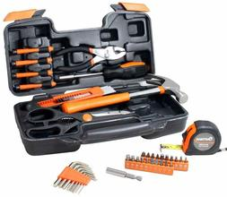 CARTMAN 39-Piece Tool Set - General Household Hand Tool Kit,