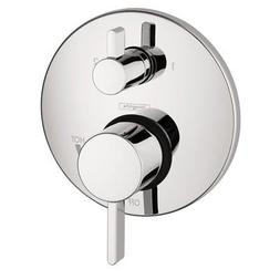 Hansgrohe 4447000 S Trim Pressure Balance with Diverter, Chr