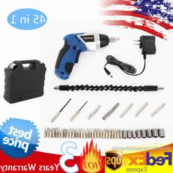 45 in 1 Power Tool 180° Rechargeable Cordless Electric Scre
