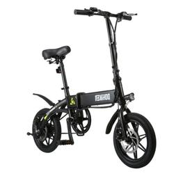"DOHIKER 250W 14"" Folding Electric Bike Collapsible Moped Bic"