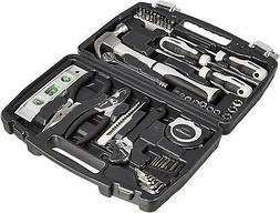 48-Piece General Household Home Repair and Hand Tool Kit Set