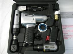 Husky 4pc. Air Tool Ratchet,Impact Wrench,etc. Kit w/ Case,