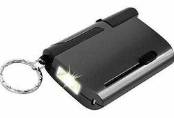 Stalwart 5 in 1 Auto Tool Kit Keyring With Flashlight New Ca