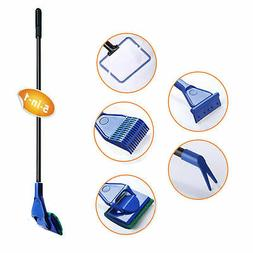 5 in 1 Complete Aquarium fish tank Clean Set Fish Net+Rake+S