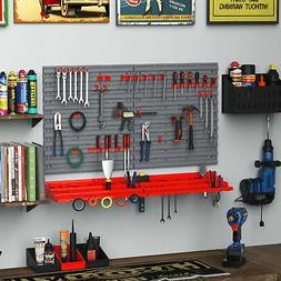54pc Wall Mounted Garage Workshop Tool Organiser&Storage Pan