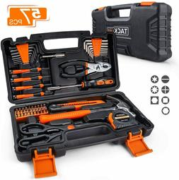57-Piece Household Tool Kit - General Home Tool Kit with Sto