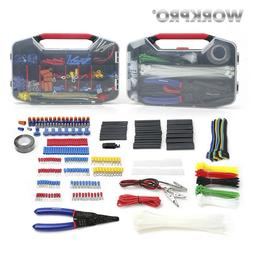 WORKPRO 582PC Electrical Tool Set Network Tool Kit Fiber Opt