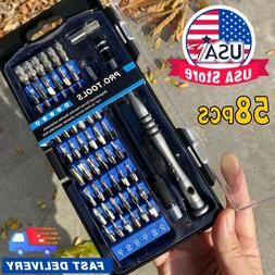 58X Phone Repair Tool Kit Precision Small Screwdriver Set 54