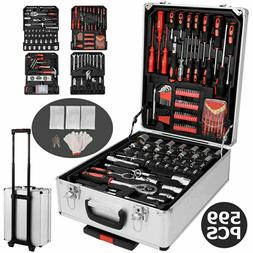 599 PC Hand Tool Set Mechanics Kit Wrenches Socket Toolbox T