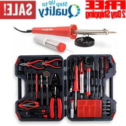 60 Piece Electronics Electrical Engineer Tool Kit with 30W S
