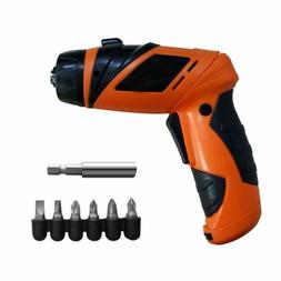 6V Cordless Screwdriver Battery Operated Mini Power Drill To