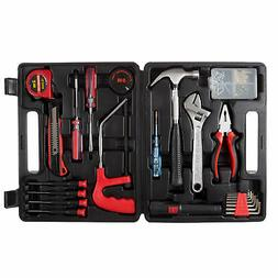 Household Hand Tools, 65 Piece Tool Set by Stalwart, Set Inc
