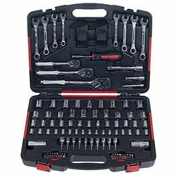 Mechanic's Tool Kit by Stalwart - 135 Piece Hand Tool Set