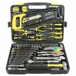 DOWELL 85 Piece Tool Set,Home Repair Hand Tool Kit with Plas