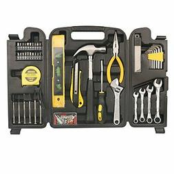 DOWELL 90 Piece Tool Set Home Repair Hand Tool Kit with Plas