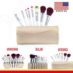9PCS Makeup Brush For Women/Dresser Foundation Kabuki Brushe