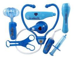 Liberty Imports Doctor Nurse Blue Medical Kit Playset for Ki